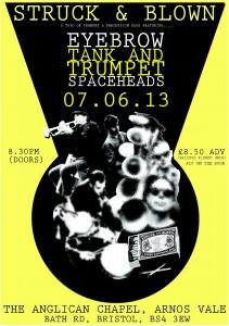 Struck&Blown Arnos Vale A4 poster